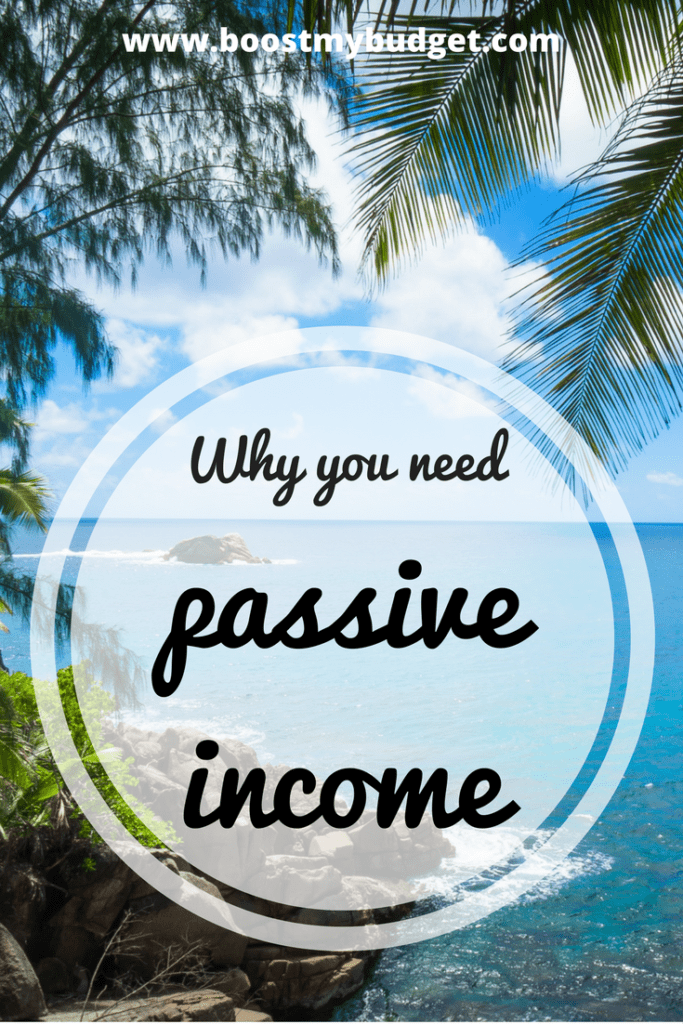 why you need passive income