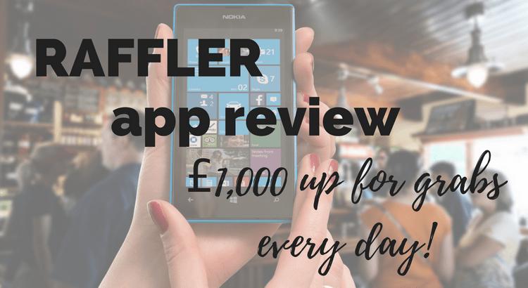 Raffler app review
