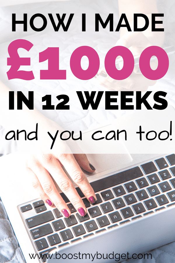 I made £1000 online in less than 3 months with this new side hustle called matched betting! It's easy once you get used to it, and anyone can try it. Give it a go! Click through to find out how I got on...