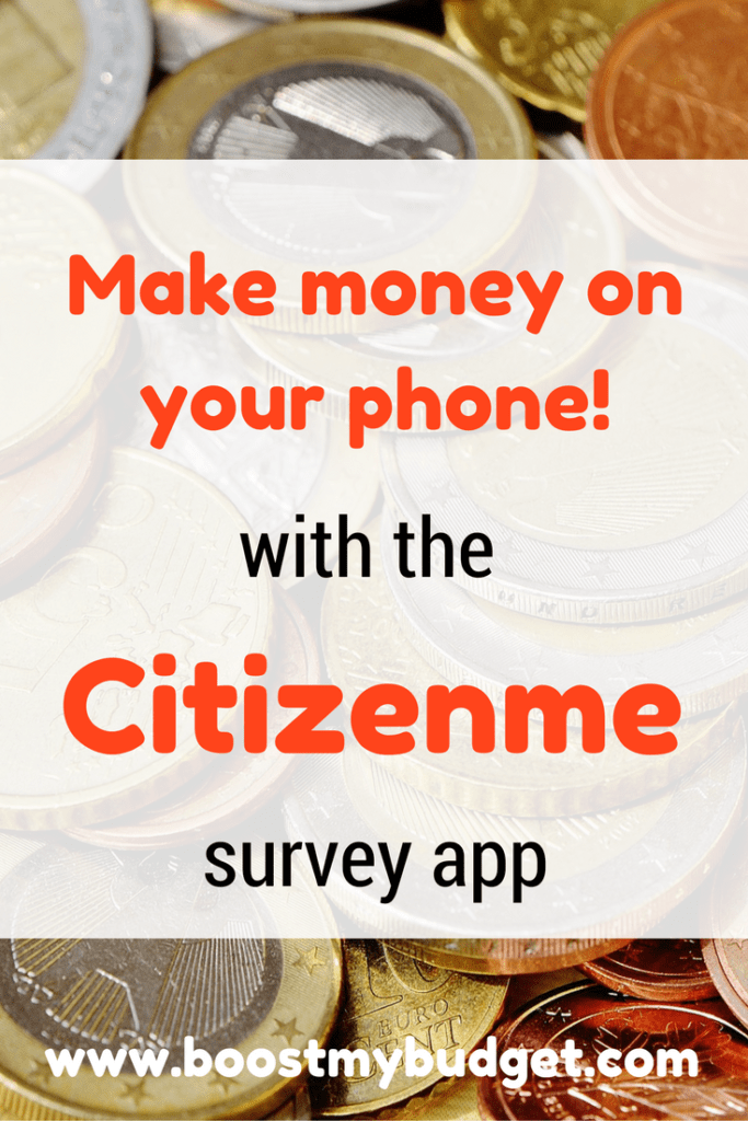 Citizenme App Review - make money from short surveys on your phone, cash out to Paypal instantly!