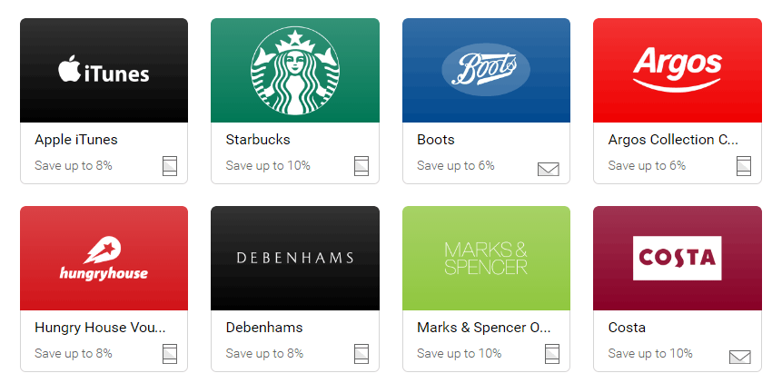 Just a few of the brands currently available on Zeek