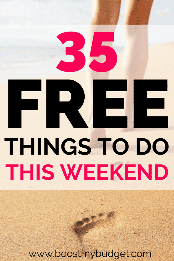 35 fun things to do without spending money! Frugal fun ideas for all the family to enjoy on a budget this summer :)