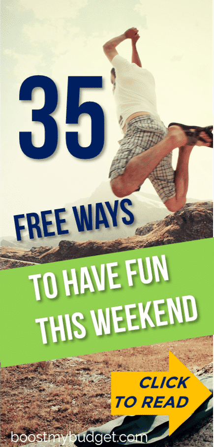 A no spend weekend is a great idea for a frugal living experience without changing your lifestyle too dramatically. Lots of tips for free activities in this post. I love number 11! #frugal #thrifty #frugallife #savemoney #moneysaving