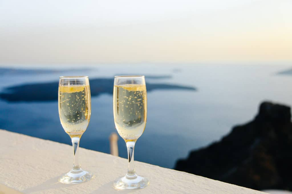 champagne - get rich and this could be yours!