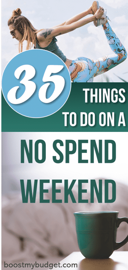 A no spend challenge is the PERFECT way to reset your budget and save some serious money. Looking for ideas and inspiration for your own no spend weekend (or even month?) Plenty of awesome activities to inspire you in this post!
