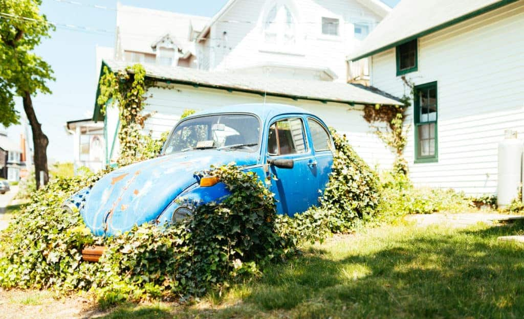 unused car on driveway - turn it into a passive income generator with the sharing economy!