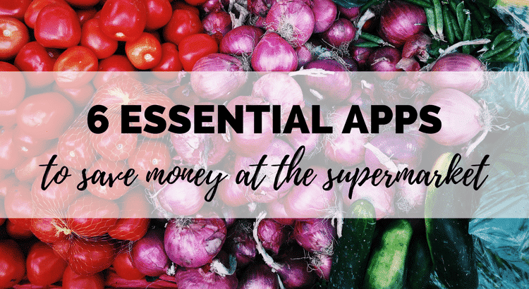 apps to save money at the supermarket