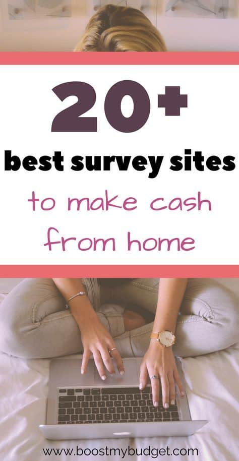 Over 20 best surveys for money UK - paid survey sites can be such an easy and fast way to make money online. These are officially the best paid survey sites in the UK so sign up today!