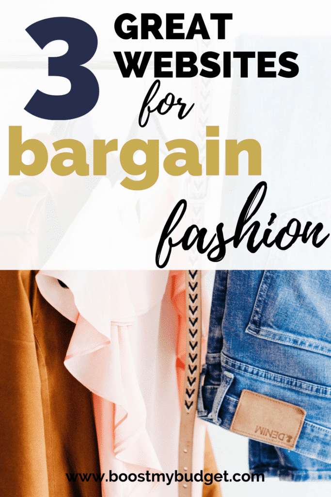 On a budget but love fashion? No problem! Click through to learn my top 3 little-known sites for serious bargains when shopping online in the UK!