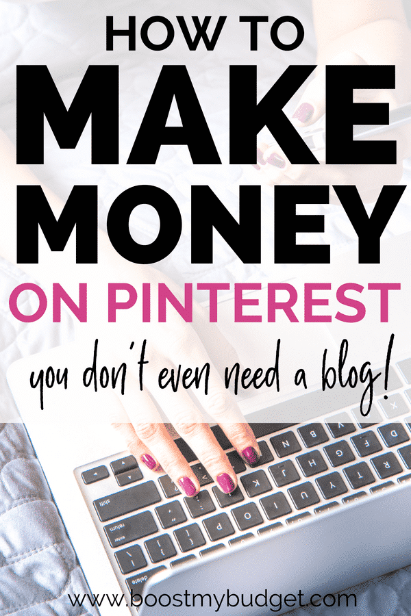 This is a step by step guide for beginners to make money on Pinterest by pinning affiliate links. Anyone can do this to make some extra cash - it's seriously so easy and such a fun side hustle!