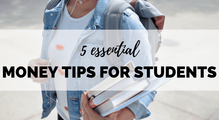 Off to university? Managing your own money for the first time can be stressful, but it doesn't have to be! Here are 5 money tips for students - the BEST things you can do for your bank balance this semester!