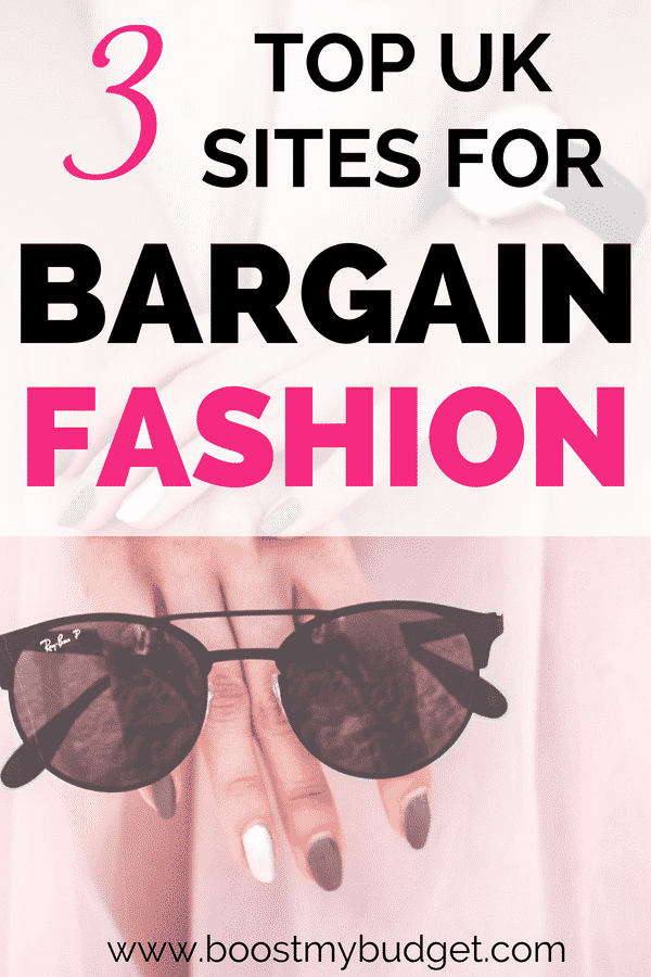Did you know you can find some AMAZING fashion bargains just for five pounds or less?? You just have to know the right websites! If you're on a budget, here are my top 3 shops in the UK for frugal fashion bargains!