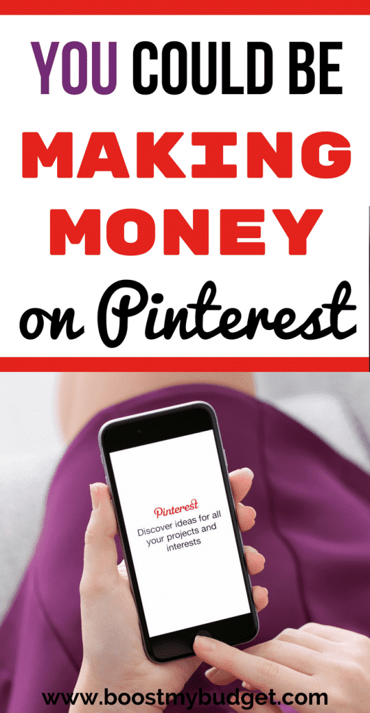 Full tutorial to make money online using Pinterest starting TODAY - and you DON'T even need a blog! #makemoney #makemoneyonline #makingmoney #workfromhome #girlboss