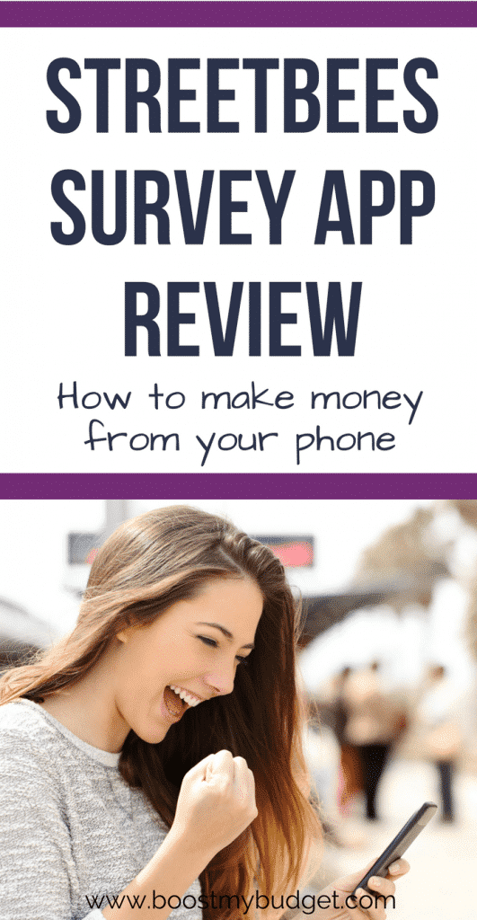 Looking for ways to make money from home or make money online? There are loads of apps for extra cash, which can bring you some nice extra income each month for little effort. Have you tried Streetbees - a survey app for iphone and android that pays you for surveys and tasks. You can earn a few extra pounds or dollars, and best of all, it pays instantly! Click through to read my review and see how much I made.