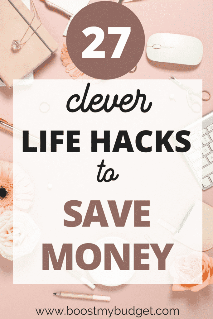 Save more money every day with these GENIUS life hacks! They will help you and your family have more money in your budget for the things you need and love :)