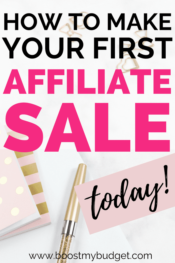 This ebook will teach you how to make your first affiliate sale today. Seriously - I make consistent sales every week using this method! If you're looking for affiliate marketing book reviews or an ebook affiliate to promote online, try this one, it won't let you down.