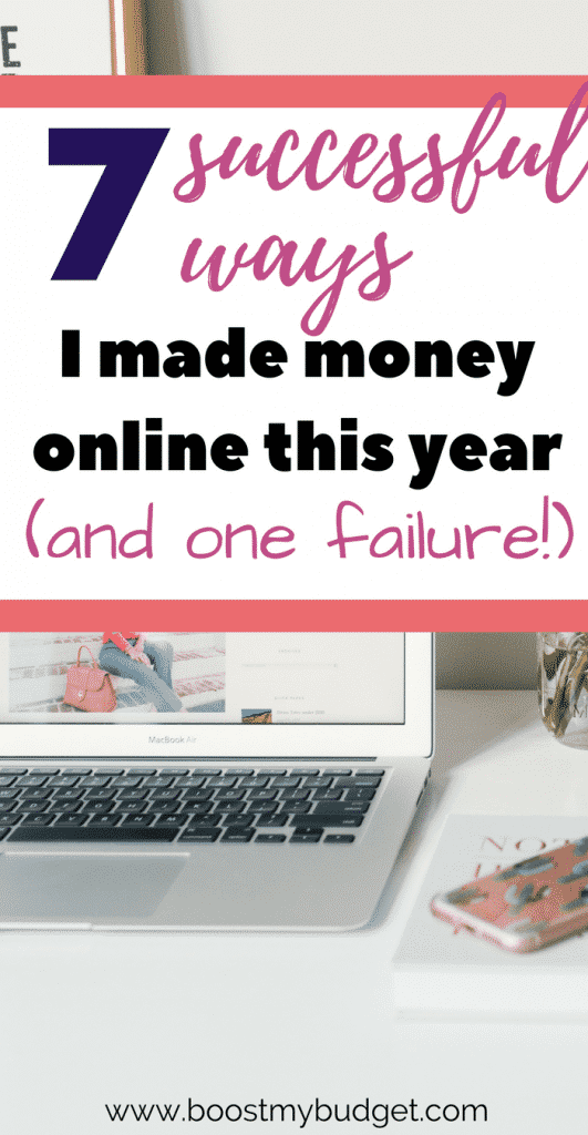 I've tried out a lot of different ways to make money online, and this is what worked for me! Plus, one mistake that actually cost me money - oops!