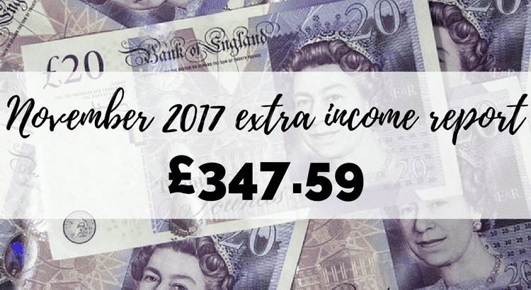 November 2017 extra income report