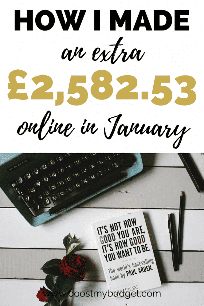 Last month I made over £2,500 in extra money online through blogging, selling on Merch by Amazon and other side hustles. I even make money on Pinterest - for real! In my income reports I break down exactly where my earnings come from, so that you can make money from home too!