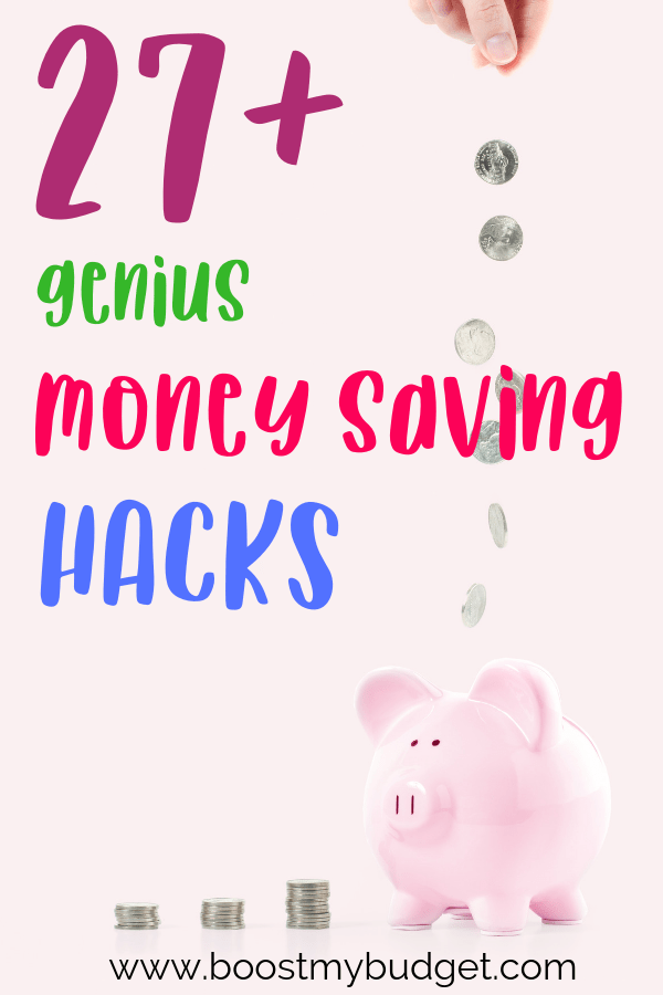 These money saving hacks are perfect for anyone who wants to save more MONEY with less stress! Click through to read my best money hacks NOW!