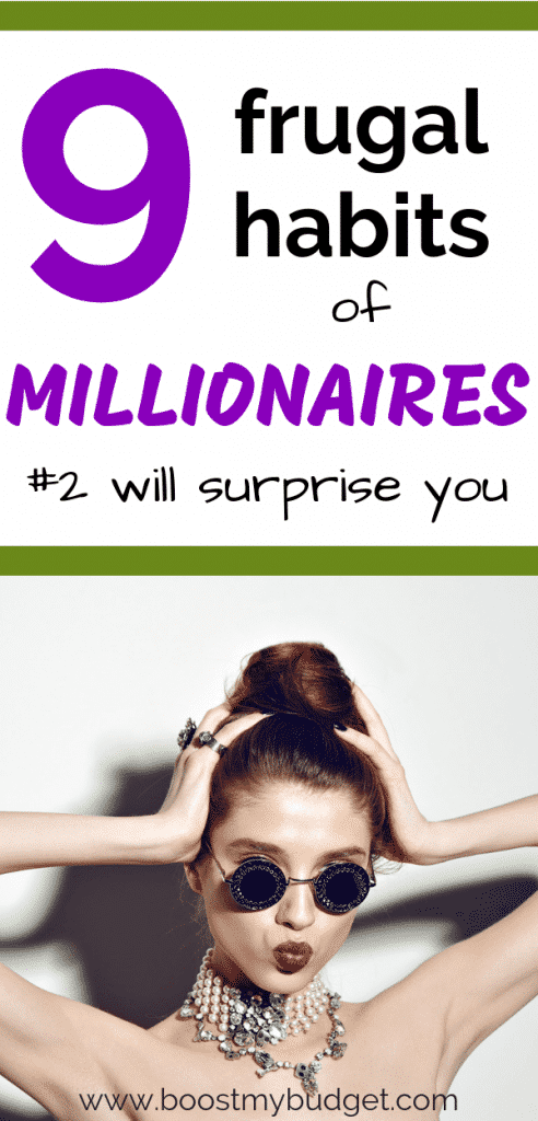 These frugal habits of millionaires might surprise you... but if you want to get rich, learn and copy these millionaire money hacks!