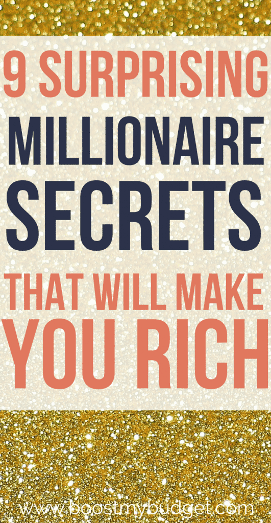 Millionaires are just normal people who made smart choices. Learn these 9 surprising habits that millionaires have in common, and start building your own wealth today! These secret personal finance hacks go a long way to make you rich :)
