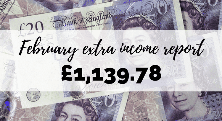 February income report! See how I made over £1000 online this month!