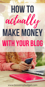 So you've started a blog, but how do bloggers actually make money blogging? This post sets out the 4 easiest ways to monetize your blog for beginners. Include a list of best paying affiliate networks to join, plus where to find sponsored posts for your blog!