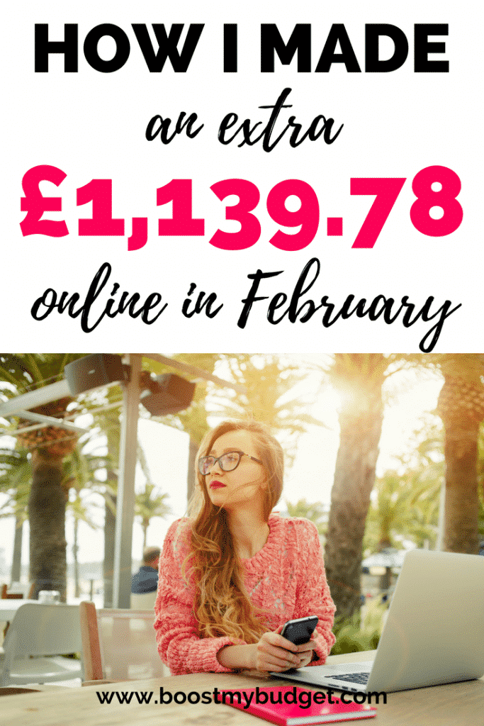 This blogger makes over £1,000 a month from home, and not just blogging either - seh makes extra month online selling T shirts on Amazon, money making apps and all sorts! Making money on Pinterest sounds like a fun idea...