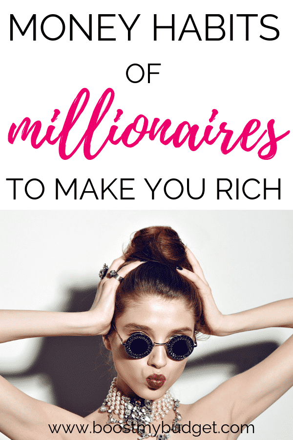 Learn and copy these surprising money habits of millionaires if you want to get rich! Anyone can do it :)