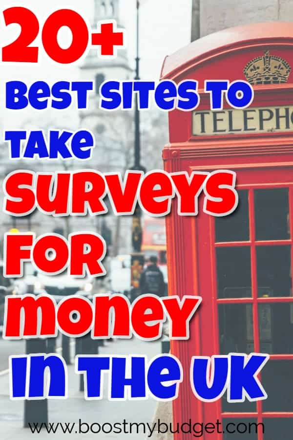 The Ultimate List of Paid Survey Sites in the UK ( 2019 ) - Boost My