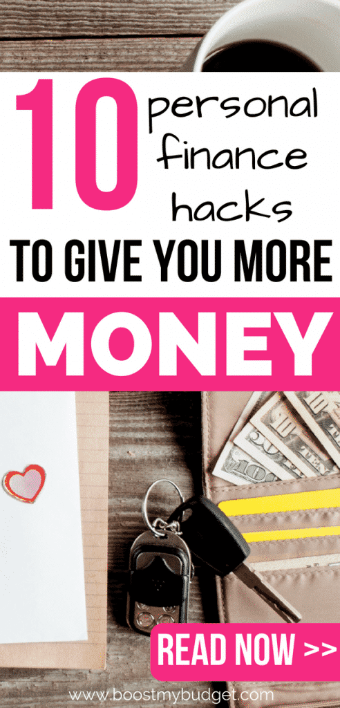 Awesome life hacks to help you save more money and make money! These clever hacks are designed so you can improve your personal finance situation in a spare 5 minutes. Take action, click through now!