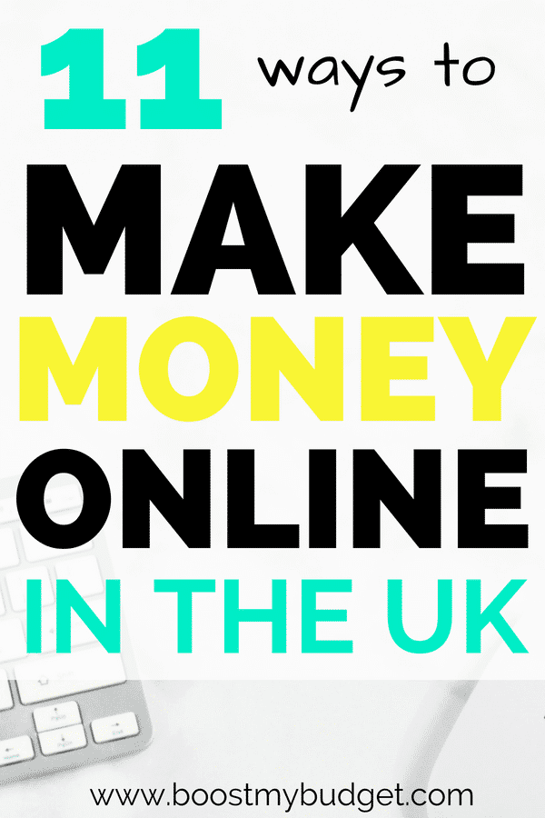 Make money from home UK! 11 money making side hustle ideas, all tried and tested by me or my friends in the UK. Some of these ideas can earn you £1000s in extra money each month!