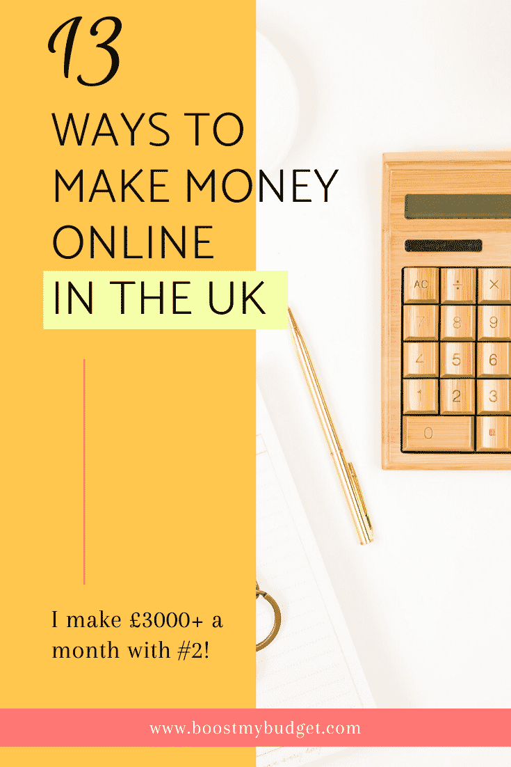 Make money online today! 13 ways to make money online in the UK, from surveys to internet marketing