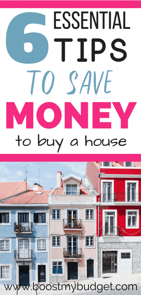 6 awesome ideas to save money for a house! From making extra cash to saving on rent, check over your budget this year and use these personal finance hacks to skyrocket your savings!