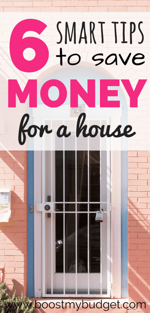 6 savvy tips on saving money to buy your first home! For many millennials home ownership seems out of reach, but try a budget overhaul and see how much you could save with these ideas!
