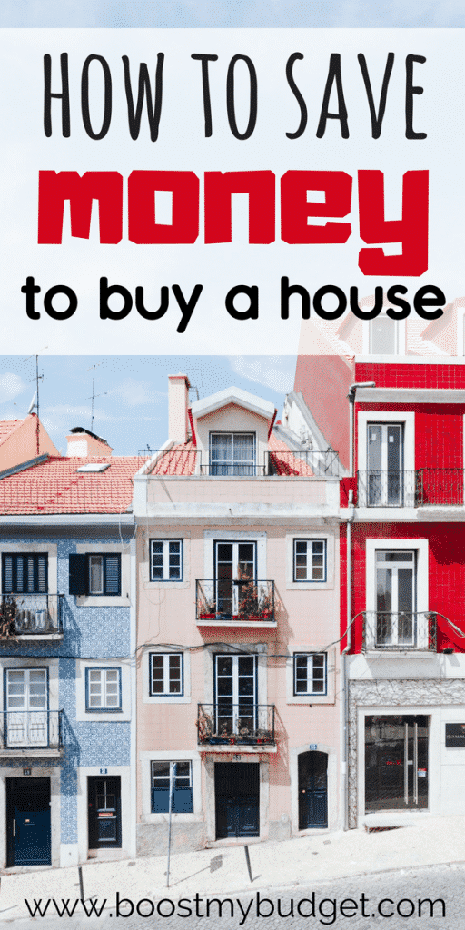 Tips on how to save money for a house. Buying property doesn't have to be a dream - make it reality with these smart ideas. #savemoney #savingmoney #moneyhacks