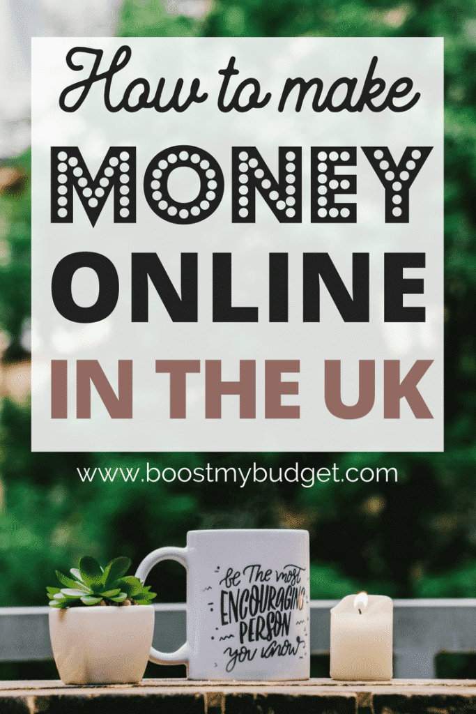 I make over £1000 each month with #2! This is a great list of ways to make money online in the UK, whether you want to start a home business or just bring in a bit of extra cash each month. It's not just surveys either - you've probably never heard of some of the jobs on this list, so click through and check them out! #makingmoney #makemoney #makemoneyonline #workathome