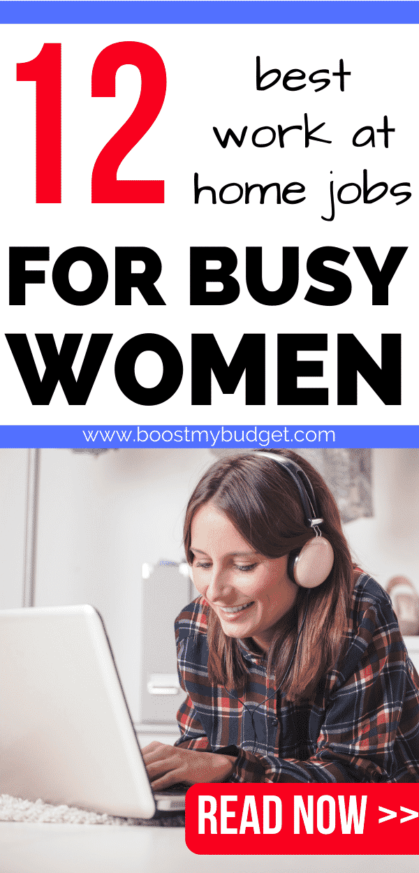 these work at home jobs are perfect for busy mums and all women who want to make extra money from home around their families!