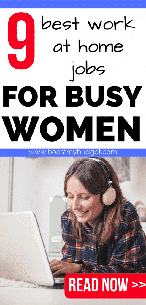 Great work at home job ideas to earn extra money online! These tips will show you how to make money in your spare time without leaving the house! #makingmoney #makemoney #makemoneyonline #sidehustle #girlboss