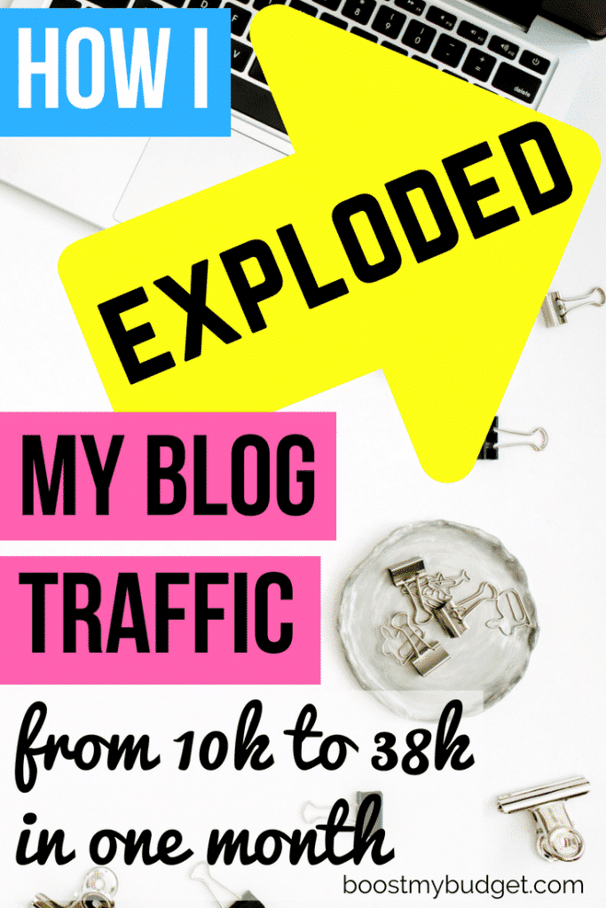Looking for tips to increase your blog traffic with Pinterest and earn more money blogging? This manual pinning strategy worked for me! Click through for screenshots of my results!