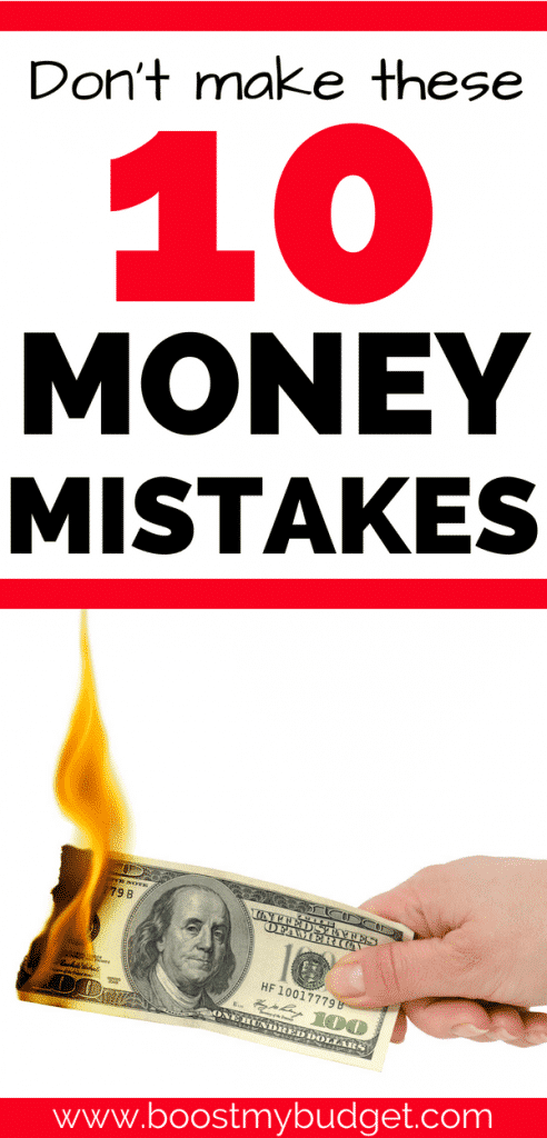 10 personal finance mistakes that are draining your money... I did NOT know number 3! Gonna save big this year with that one alone! Great money saving tips.