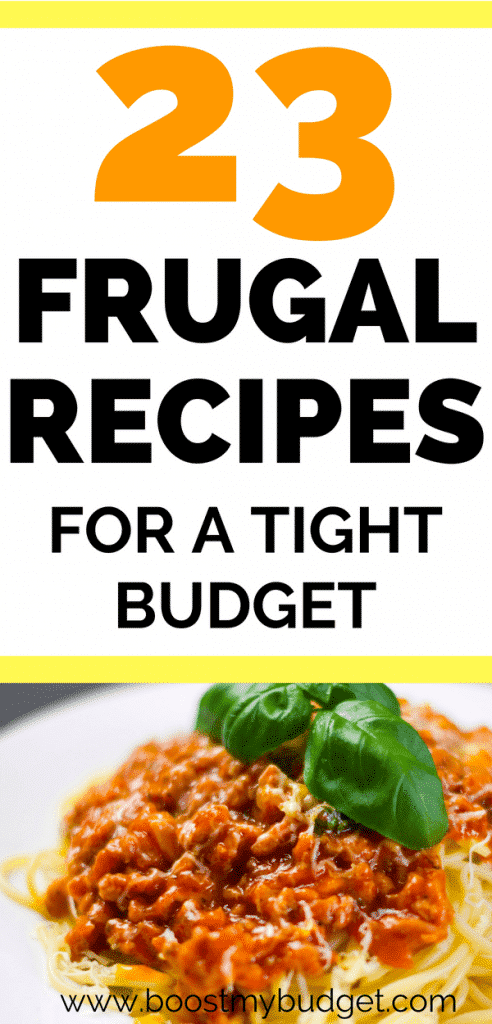 PERFECT budget recipes ideas for your weekly meal planning! So much inspiration to cook healthy and cheap meals!