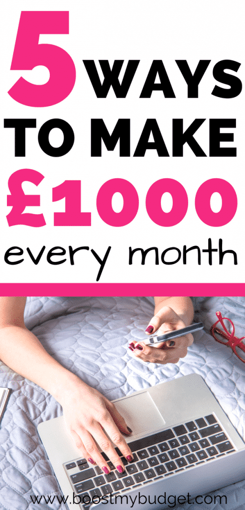 Looking for ideas to make money online? Whether it's a little extra cash each month or a full time work at home job, you need to check out the money making ideas in this post!