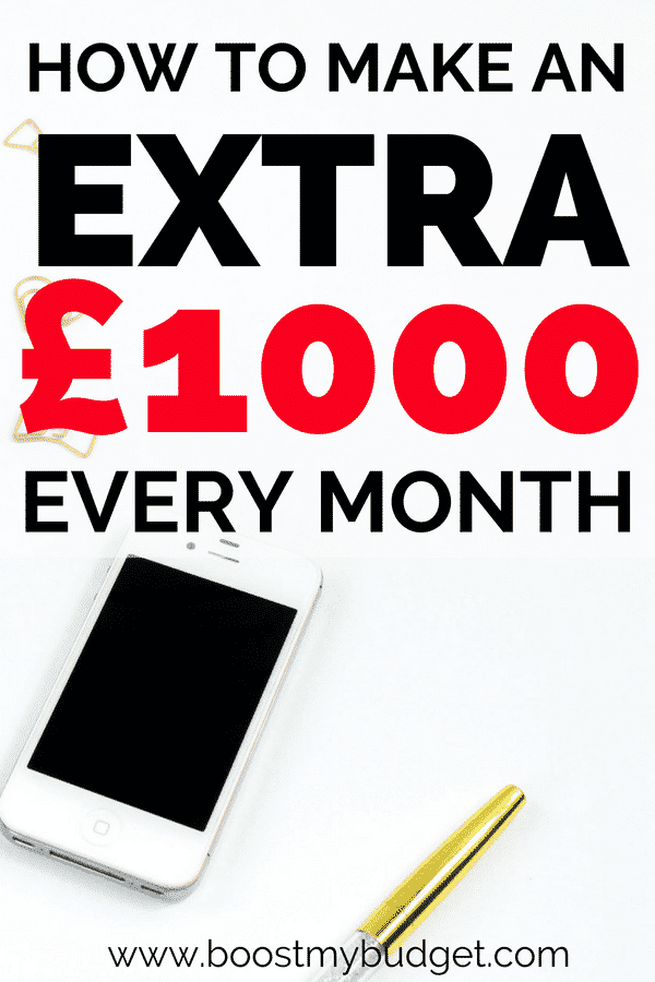 If you're looking for ways to make money online you will LOVE this post! I make over £2000 extra cash from home each month and I promise you can do the same. My secrets include matched betting, blogging, apps, survey sites and online selling... click through for more!