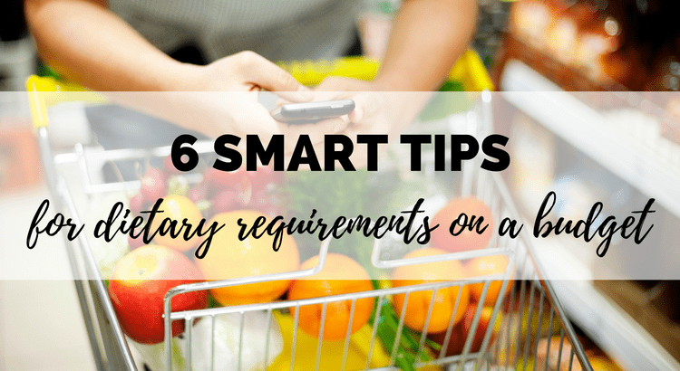 tips to handle dietary requirements on a budget