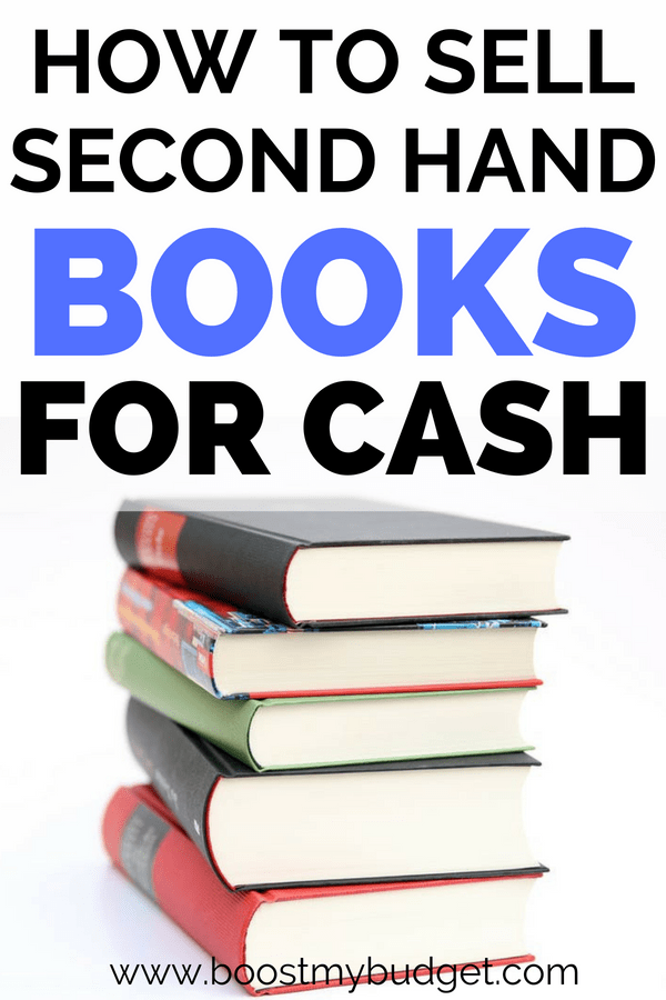 What's the best place to sell second hand books for cash UK? Here's a list of sites and apps I've tried for selling second hand goods, an easy way to make money from your clutter!