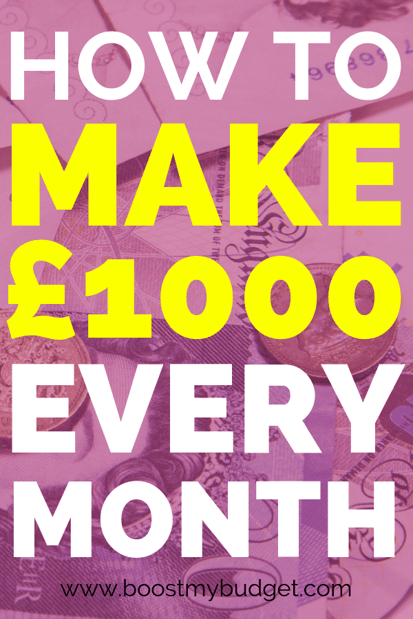 Learn how to make £1000 a month from home. These online jobs are perfect for stay at home mums or anyone who wants to make some extra cash on top of their job! What would you do with the extra money??