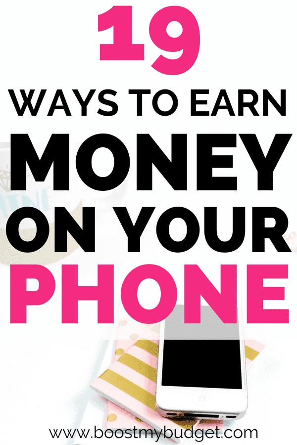 Apps to earn money UK! There are dozens of ways to earn money from your phone. Here are just some of my favourite money making apps!
