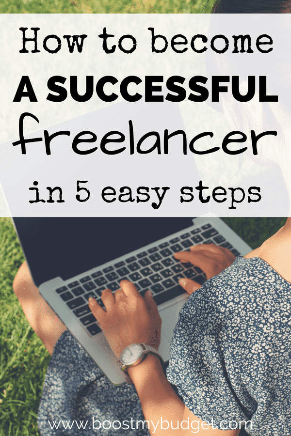 Have you thought about freelancing as a side hustle? It's a perfect way to make money online that you can do from anywhere in the world - popular with digital nomads! Here are 5 steps to finding your first freelance job.